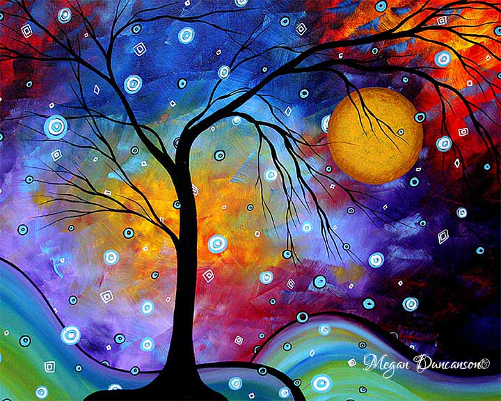 Winter Sparkle by MADART Megan Duncanson