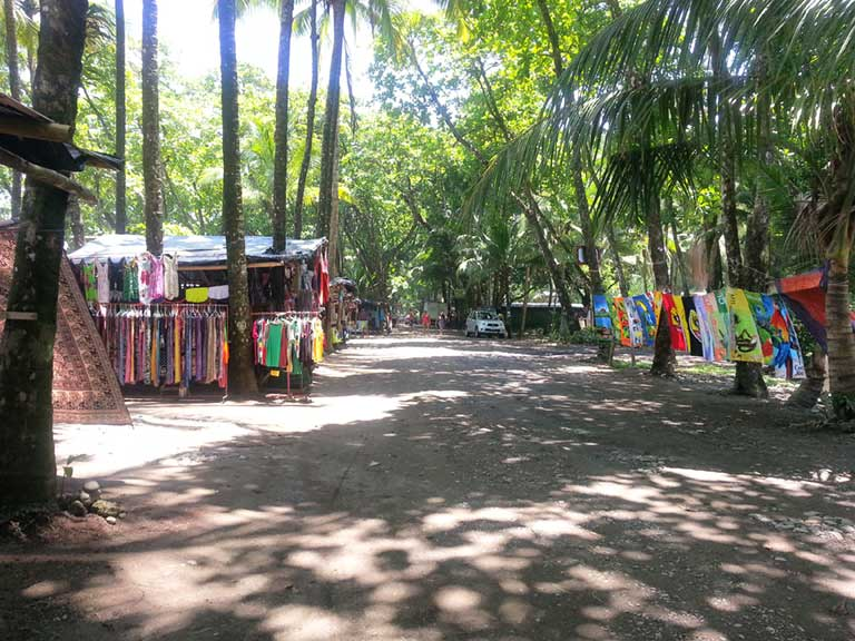 Costa Rican Beach Shops
