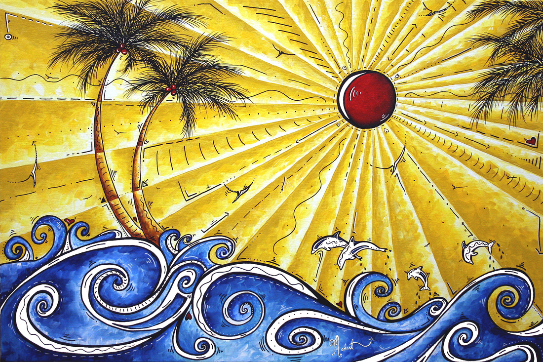 tropical pop art madart website original paintings