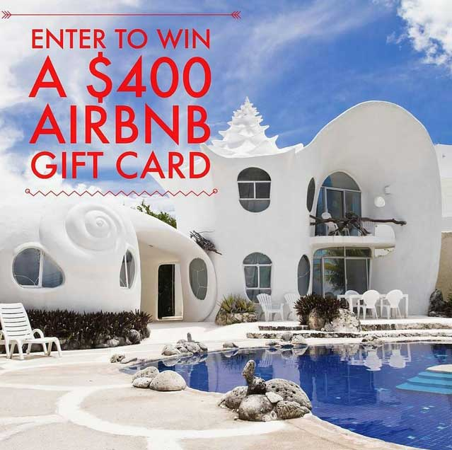 Airbnb Giveaway on MADART Studios Instagram