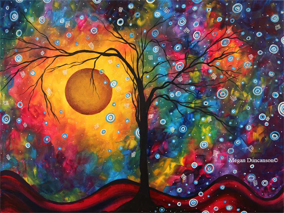 Original and Limited Edition Prints by Megan Duncanson from Circle of Life Collection
